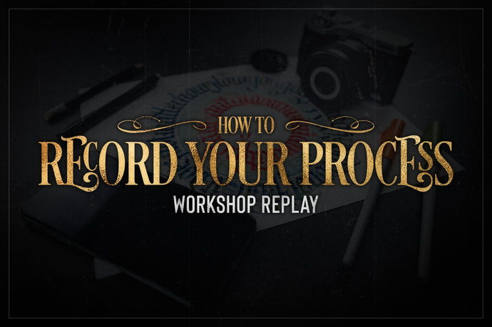 Recording Your Art Process (Workshop Replay)
