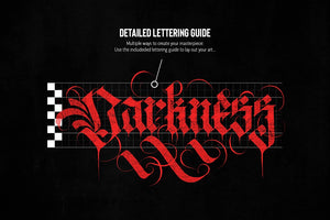 SALE! The Ultimate Gothic Calligraphy Marble Procreate Brush Toolkit