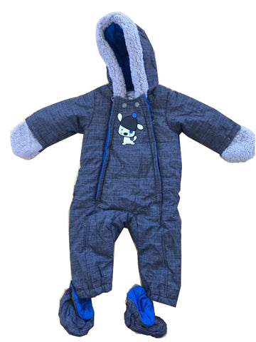 Infants Double Zipped Front All in One Suits
