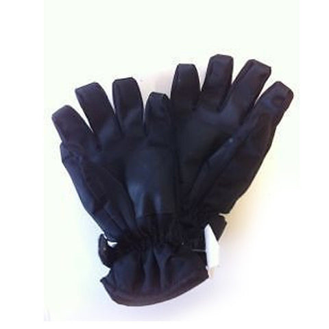 Adult Snowflake Black Ski/Snow Gloves