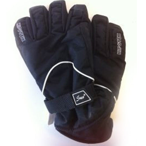 Waterproof Black Gloves
