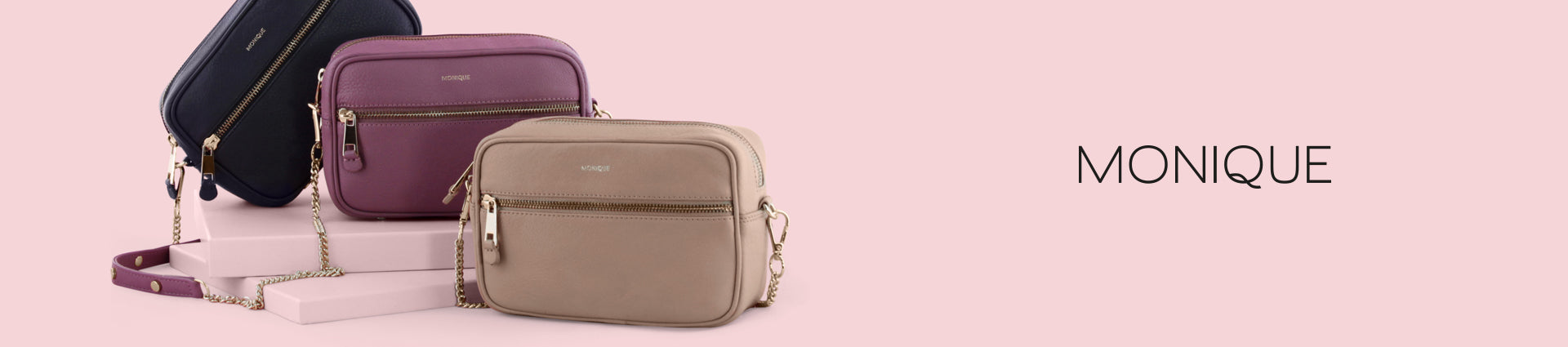 Monique Spring Summer Collection luxury leather accessories