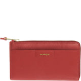 Monique-Gloria Leather Zip Around Wallet-RED-Womens Wallet - Gabee Bags | Gabee.com.au - 3