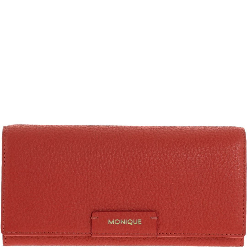 Monique-Amiya Leather Wallet-RED-Womens Wallet - Gabee Bags | Gabee.com.au - 8