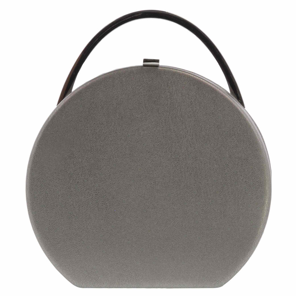 Celeste Vegan Leather Circle Clutch