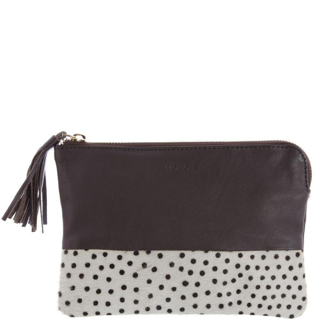 Monique-Margot Leather Pouch-POLKA-Clutch - Gabee Bags | Gabee.com.au - 6