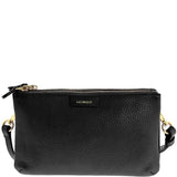 Monique-Ciara Leather Crossbody Bag-BLACK-Crossbody Bag - Gabee Bags | Gabee.com.au - 7