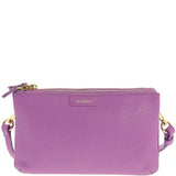 Monique-Ciara Leather Crossbody Bag-FUCHSIA-Crossbody Bag - Gabee Bags | Gabee.com.au - 4