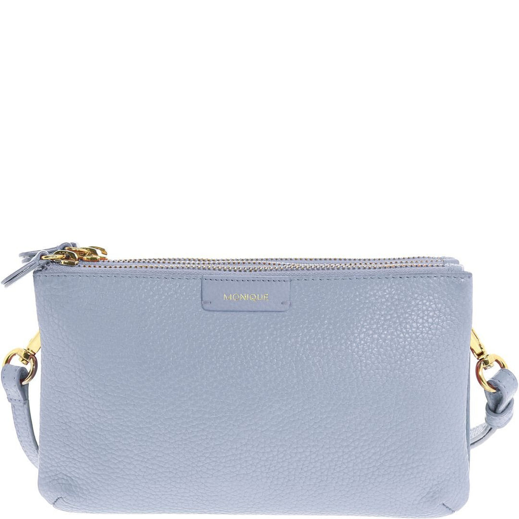 Monique-Ciara Leather Crossbody Bag-ICE-Crossbody Bag - Gabee Bags | Gabee.com.au - 1