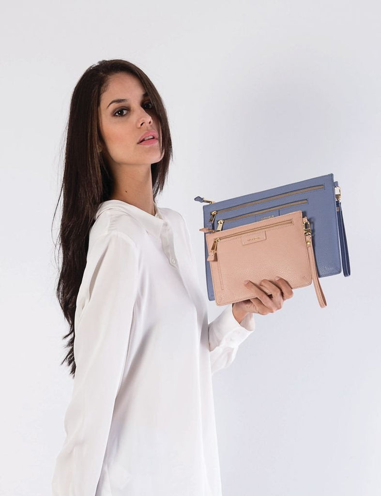 Kiara Leather Clutch-Gabee.com.au