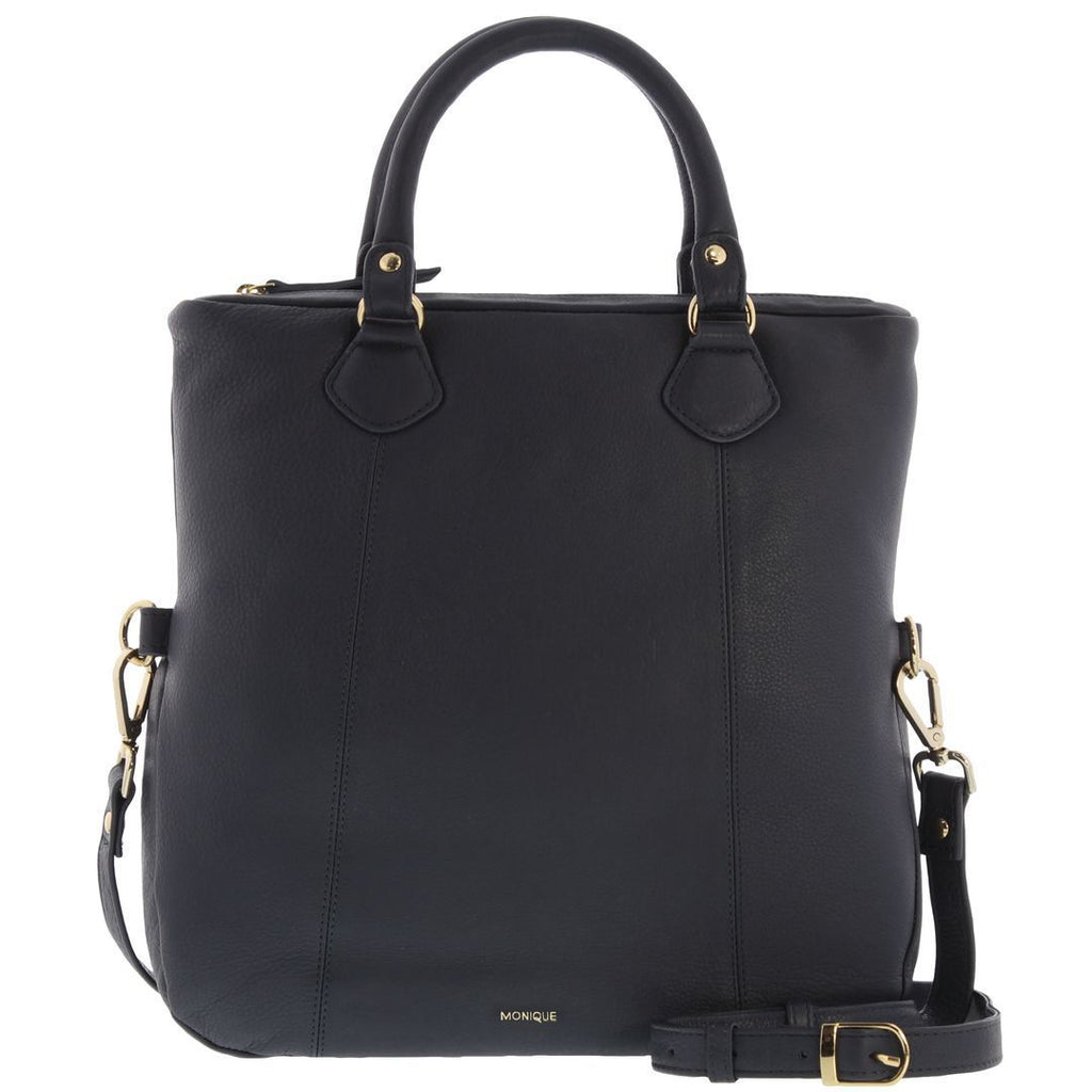 Ember Leather Fold Over Tote