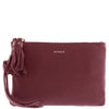 Chloe Leather Tassle Pouch
