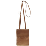 Isabel Leather Tall Crossbody