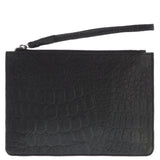 Aya Leather Wristlet Pouch