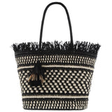 Burleigh Two-Tone Woven Tote