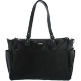 Monique-Kaden 3pc Baby Tote Bag-BLACK-Baby Bag - Gabee Bags | Gabee.com.au - 1