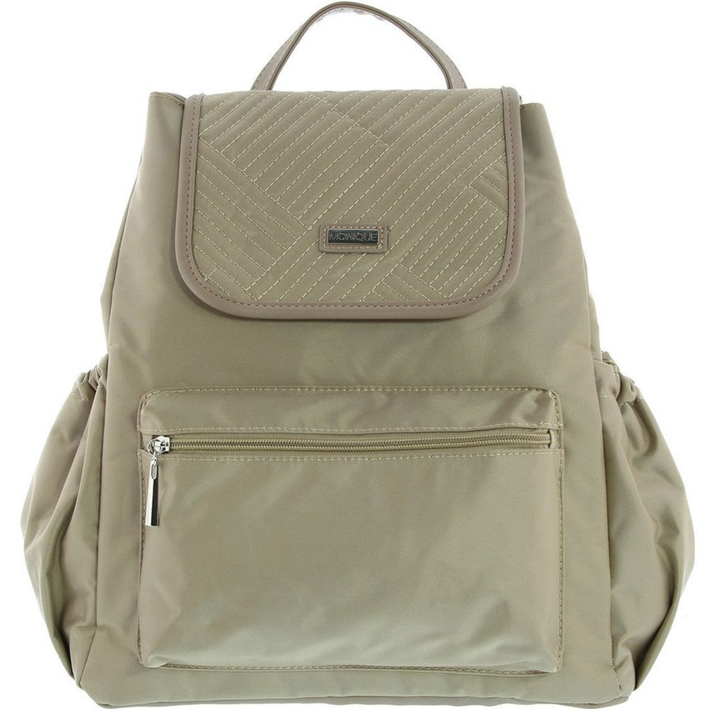 Monique-Spencer 3pcs Baby Backpack-BEIGE-Baby Bag - Gabee Bags | Gabee.com.au - 1