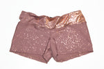 Rosa Gold Yoga Shorties