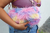 Pastel Truffula Shoulder Purse