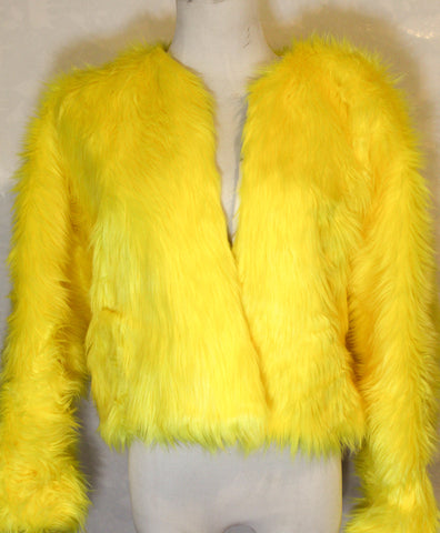 Canary Fur Coat