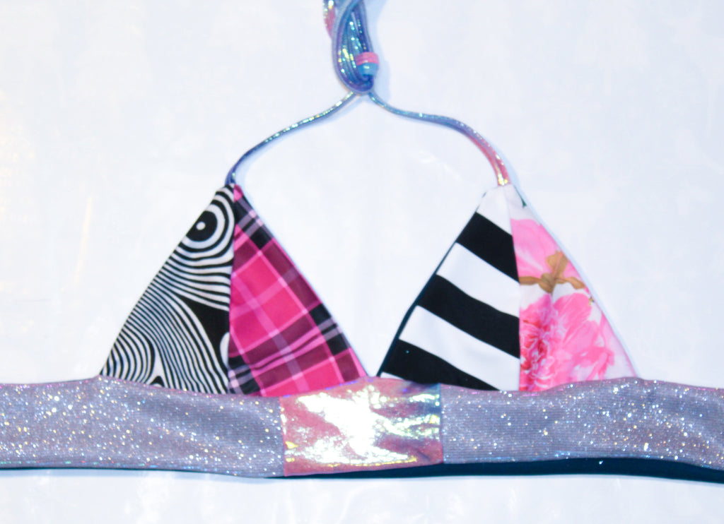 MEDIUM Patchwork Halter