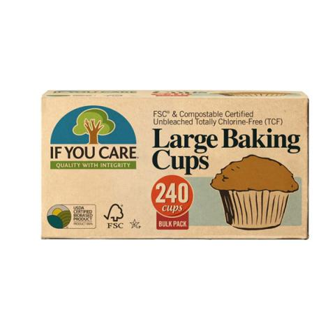 If You Care Baking Cups Large 240pk - Refill Nation