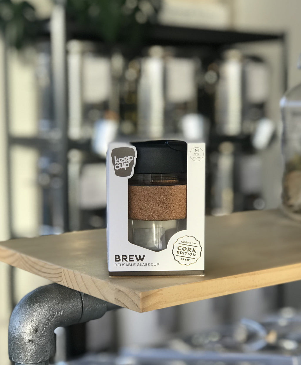 Single KeepCup Brew Cork Edition - 12oz Cork - Refill Nation