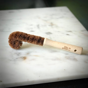 Little Green Long Dish Brush with Firm Bristles - Refill Nation