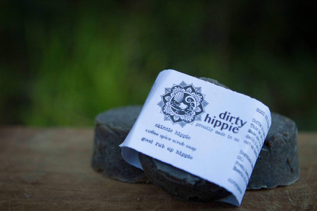 Dirty Hippie - Coffee Spice Exfoliating Soap (Vegan) - Refill Nation