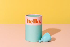 Hello Cup Double Box - Teen and S/M Lilac + blue - Refill Nation