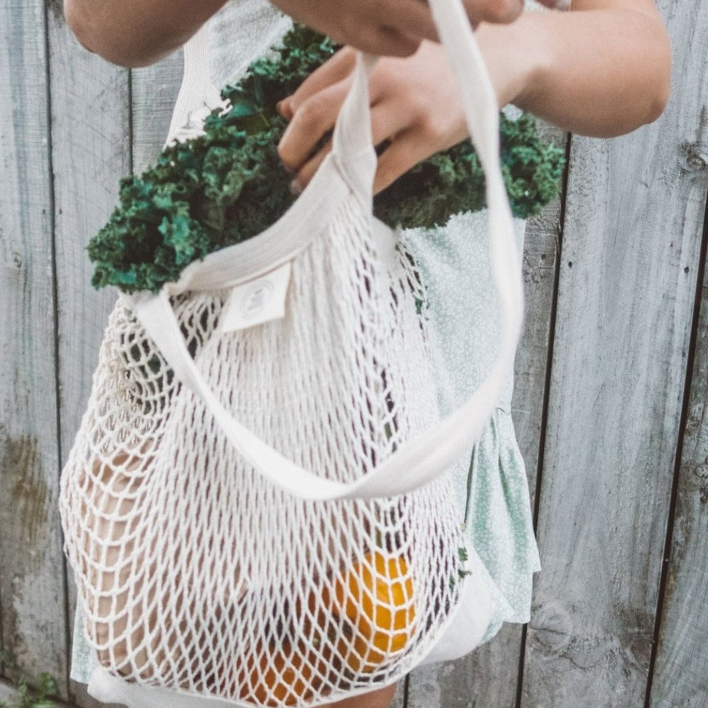 Organic Cotton Mesh Tote - Refill Nation