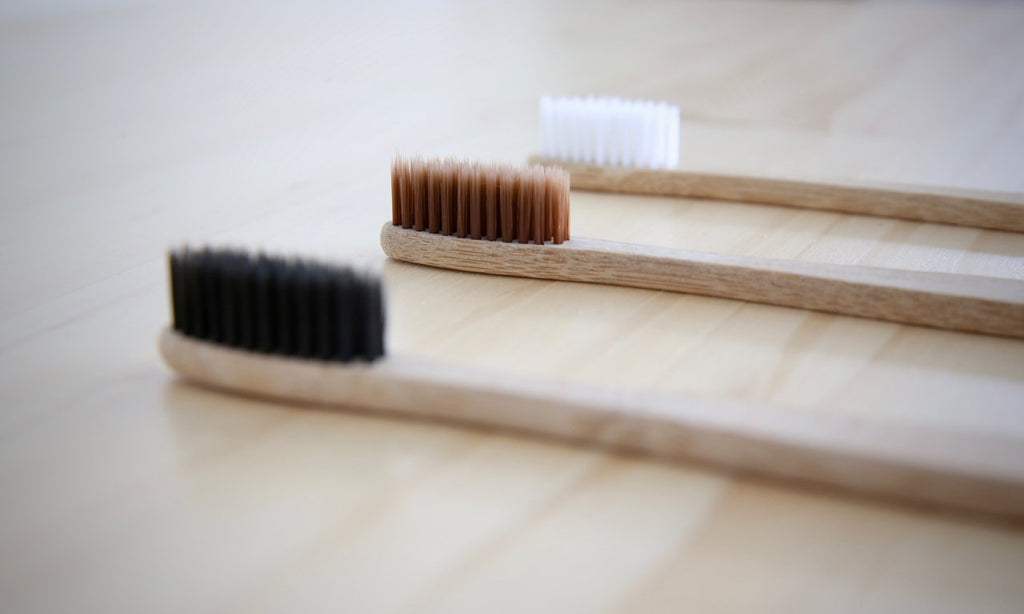 Bamboo Toothbrush, Charcoal - Refill Nation