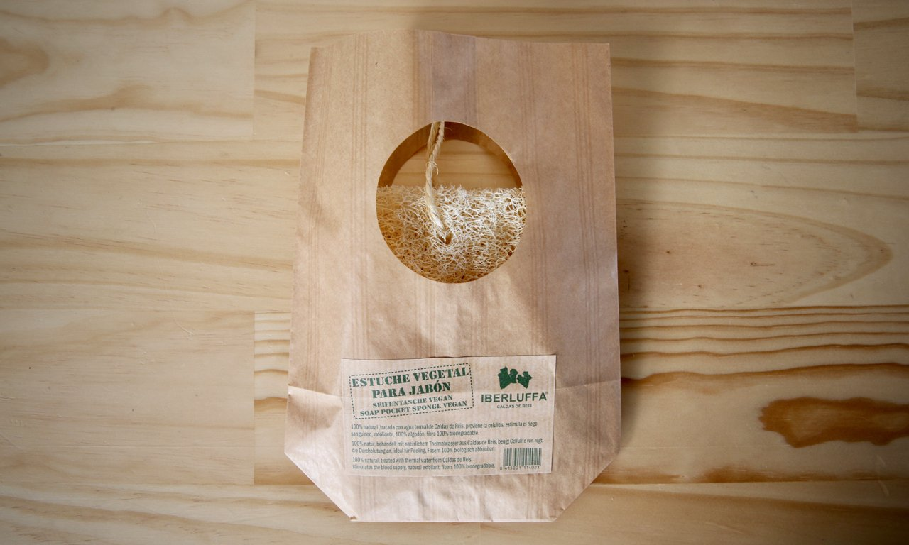 Biodegradable Luffa Soap Pouch - Refill Nation