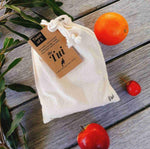 Reusable Cotton Bags - Team of Five - Refill Nation