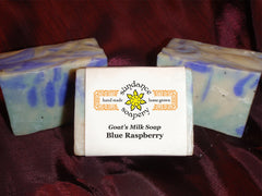 Blue Raspberry and Shea Butter