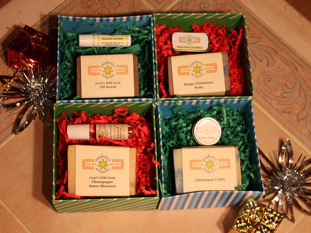 Small Square Gift Boxes Sundance Soapery
