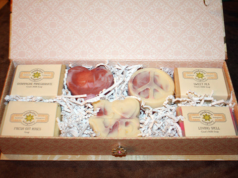 Peace Love and Soap Gift Box