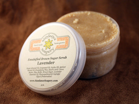 Emulsified Brown Sugar Scrub