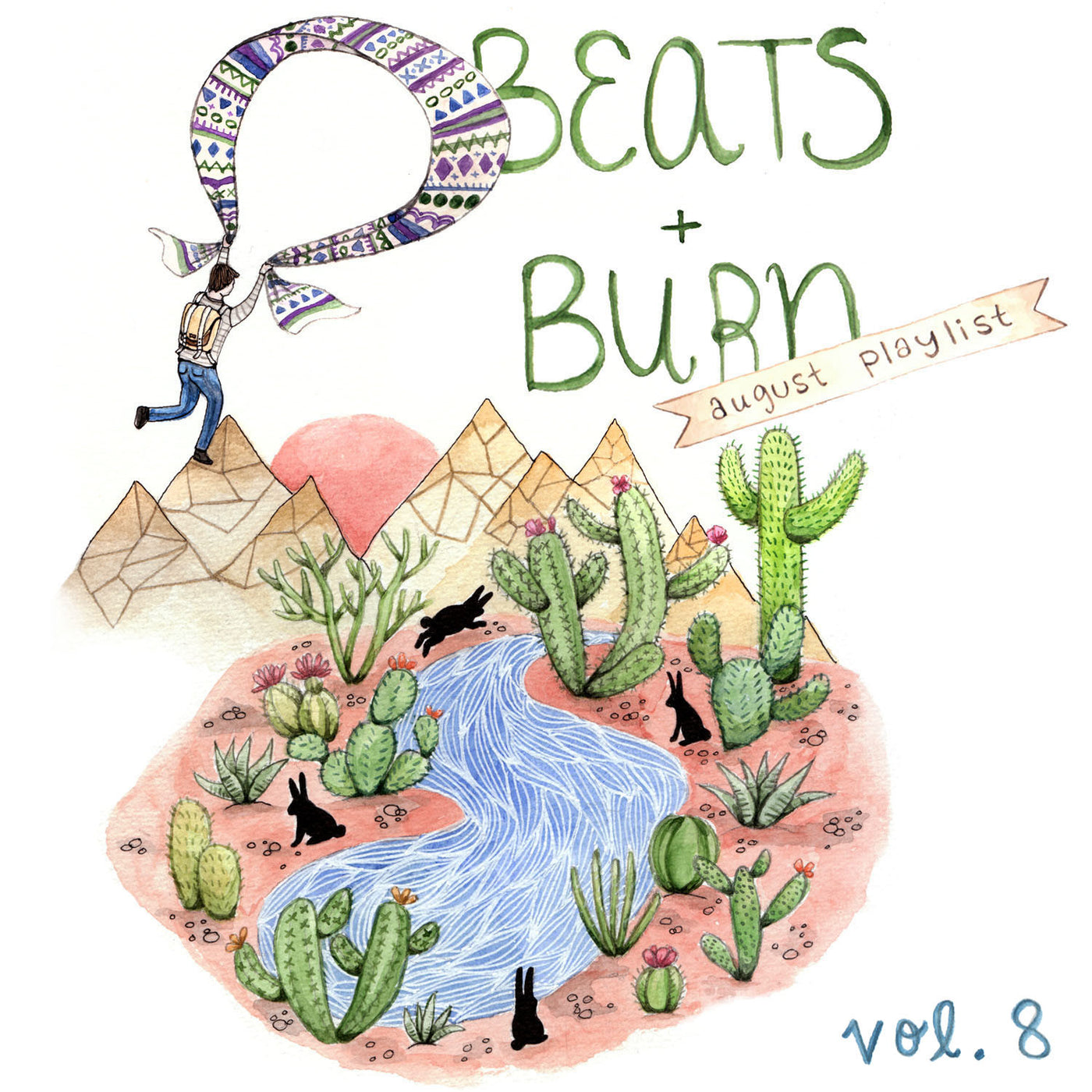 Beats & Burn Vol. 8 - August Playlist
