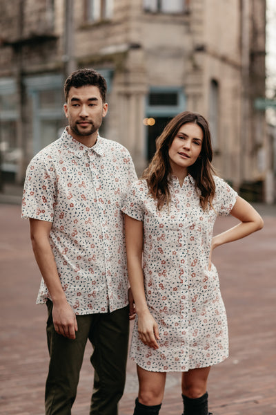 The Hibiscus Print: Bridge & Burn's Spring '19 Custom Pattern