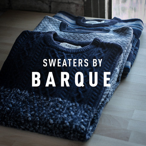 Product Spotlight: Barque Sweaters