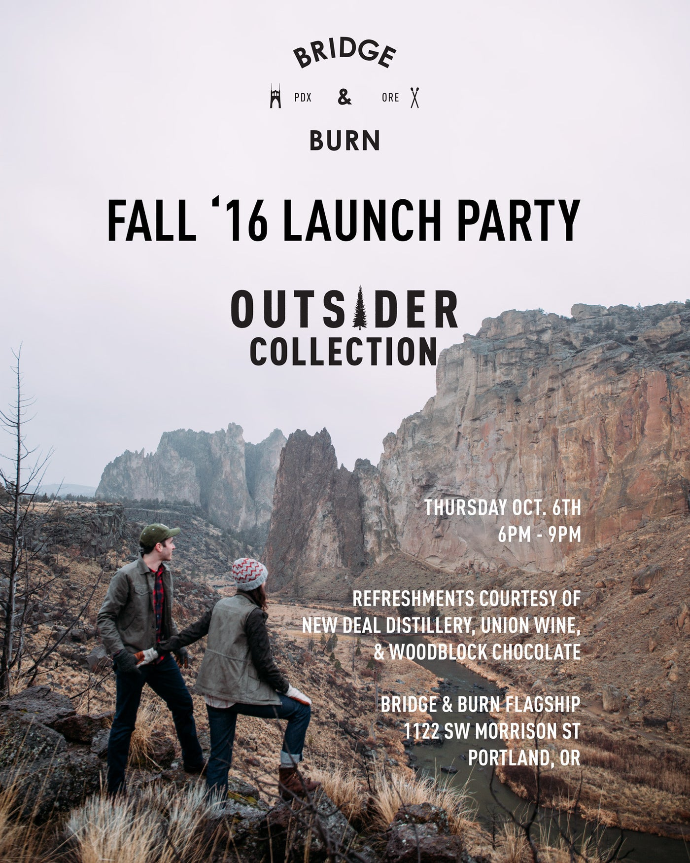 Bridge & Burn Fall 2016 Launch Party