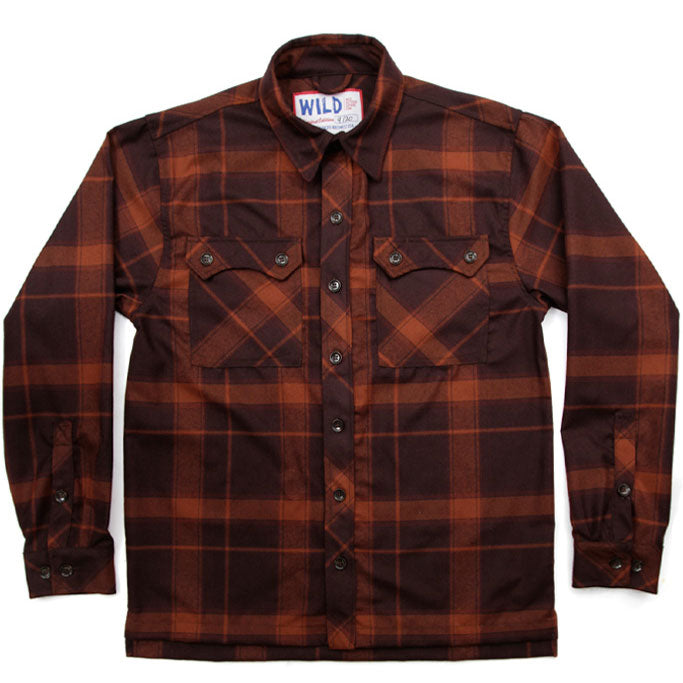 Wild x Bridge & Burn Flannel Shirt