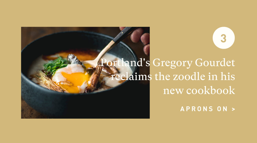 Gregory Gourdet Reclaims the Zoodle