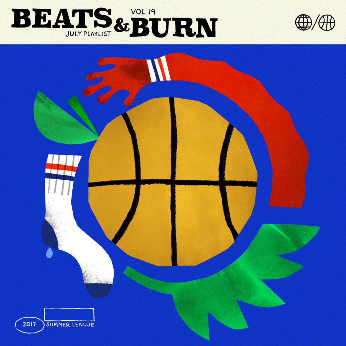 Beats & Burn Cover Art by Jake Gascoyne