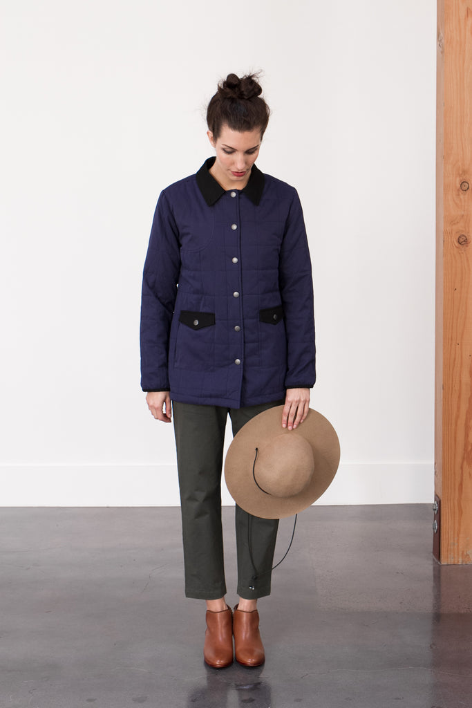 Bridge & Burn Barn Jacket and Westerlind Wool Hat