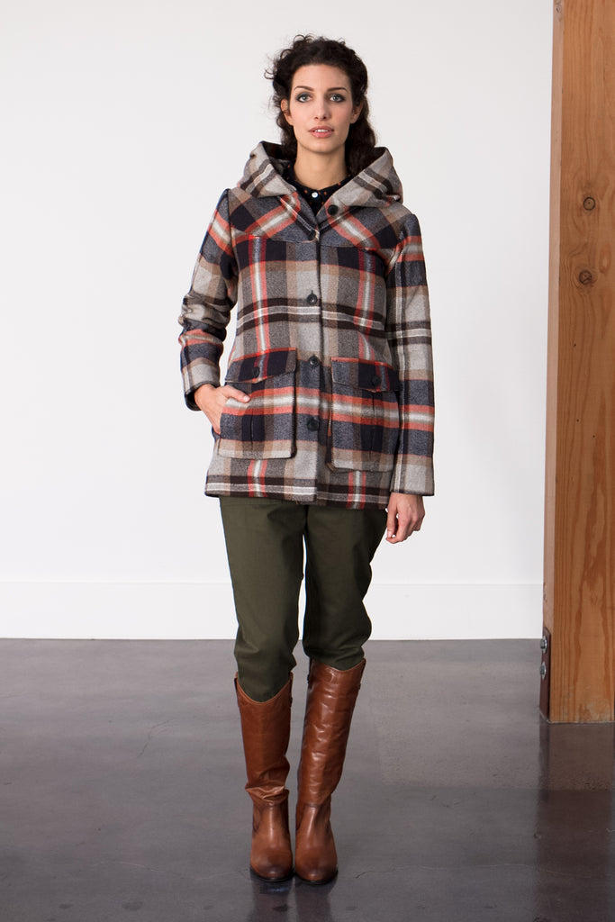 Bridge & Burn Fall Wool Coat