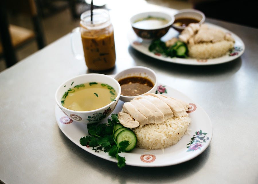 Nong's Khao Man Gai - Chicken and Rice