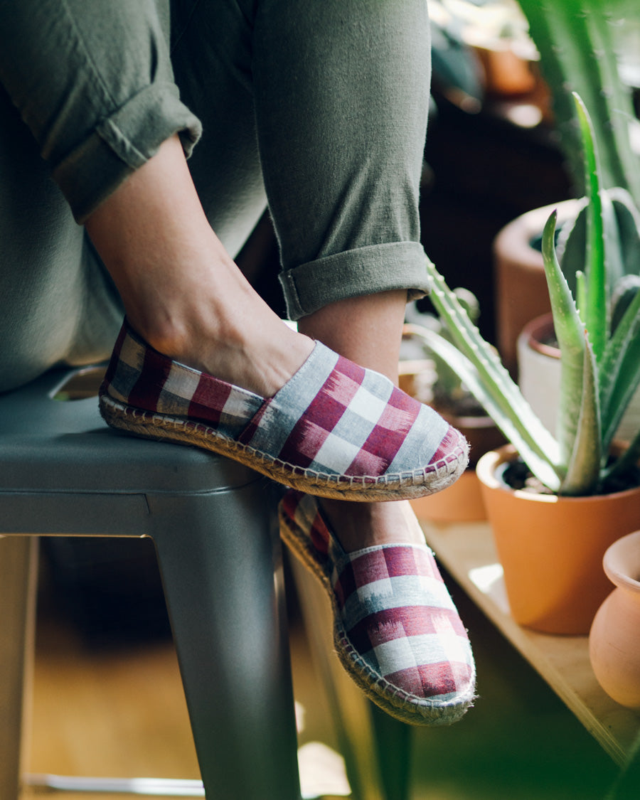 Bridge & Burn Plaid Espadrilles