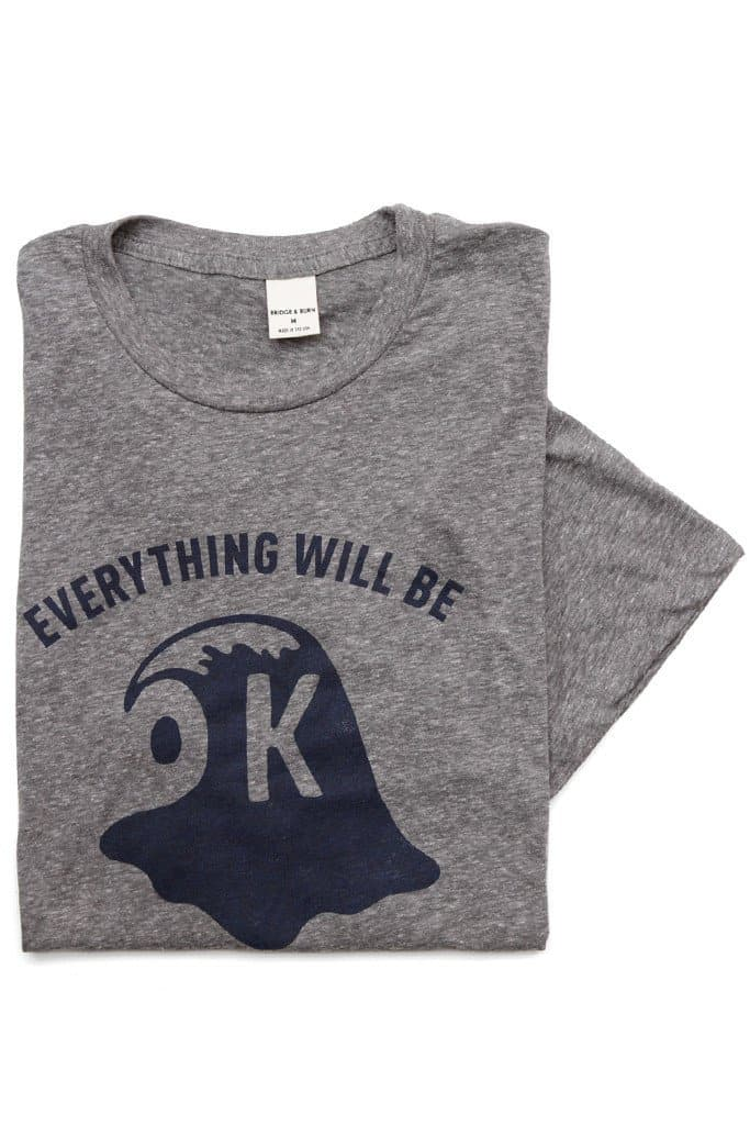 Everything Will Be OK Wave Grey